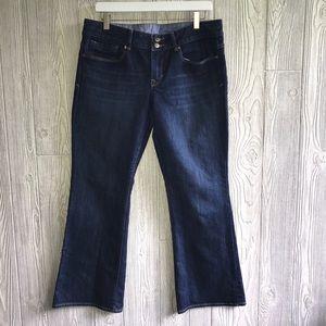 GAP 1969 Jean Perfect Boot Cut Dark  W5